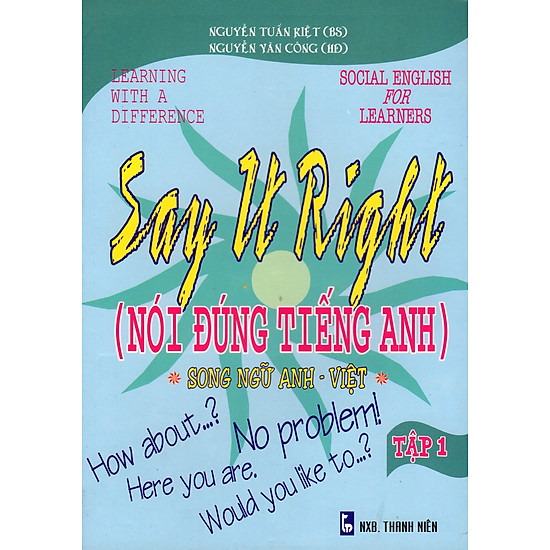 Say It Right (Nói Đúng Tiếng Anh) – Tập 1
