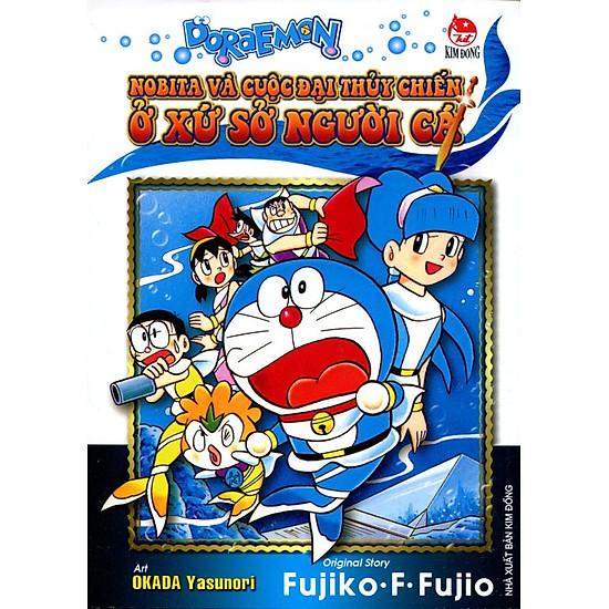 Doraemon, Nobita Và Cuộc Đại Thủy Chiến Ở Xứ Sở Người Cá