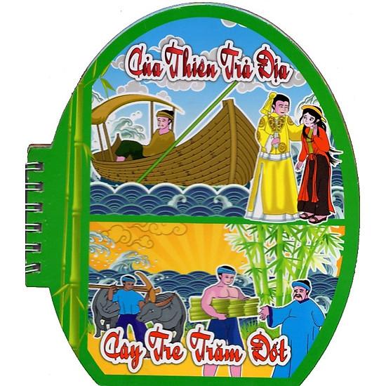Tranh Truyện Cổ Tích Việt Nam: Của Thiên Trả Địa - Cây Tre Trăm Đốt