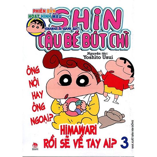 Shin - Cậu Bé Bút Chì Hoạt Hình Màu (Tập 3)
