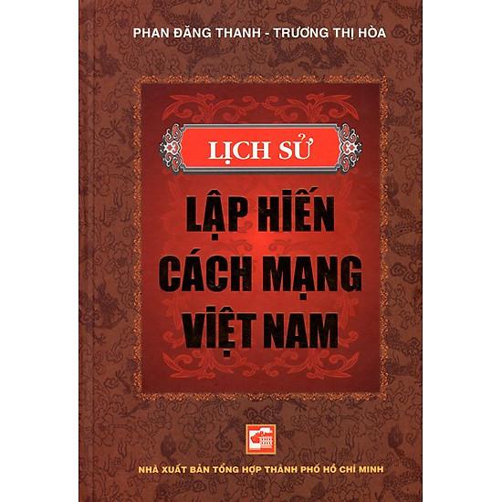 [Download Sách] Lịch Sử Lập Hiến Cách Mạng Việt Nam