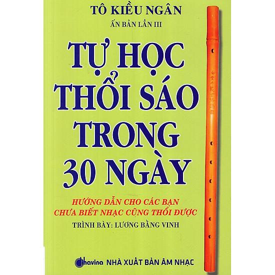 Tự Học Thổi Sáo Trong 30 Ngày (Kèm CD)