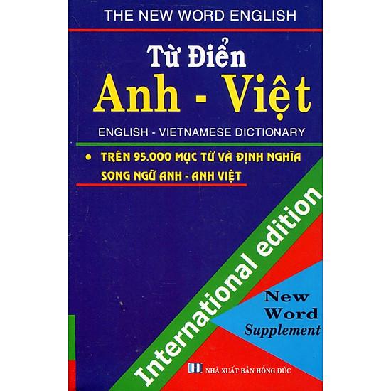 Từ Điển Anh – Việt 95.000 Từ (Khổ Nhỏ)