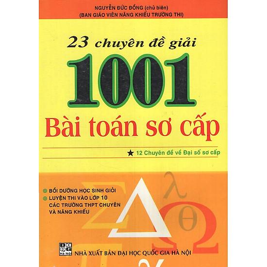 23 Chuyên Đề Giải 1001 Bài Toán Sơ Cấp - Tập 1