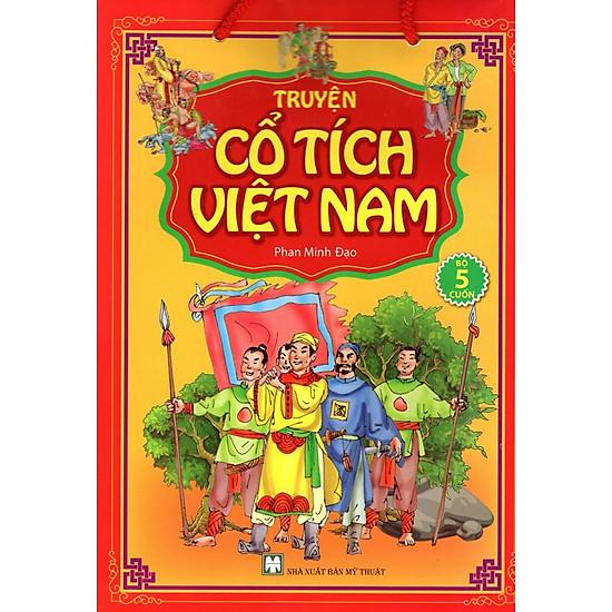 Bộ Túi Truyện Tranh Cổ Tích Việt Nam (Trọn Bộ 5 Cuốn)