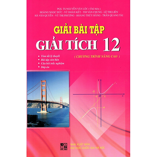 [Download Sách] Giải Bài Tập Giải Tích Lớp 12 (Chương Trình Nâng Cao)