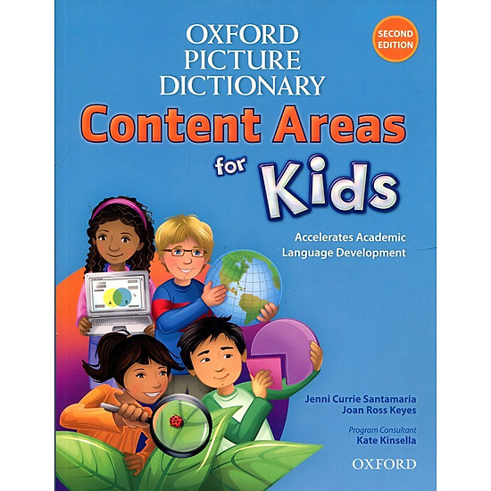 Oxford Picture Dictionary For Kids –  Second Edition: Monolingual English Dictionary Paperback