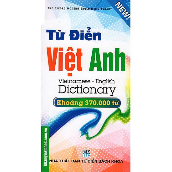 [Download Sách] Từ Điển Việt - Anh 370.000 Từ