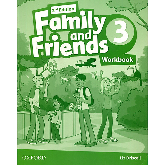 Download sách Family & Friends (2 Ed.) 3 Workbook - Paperback