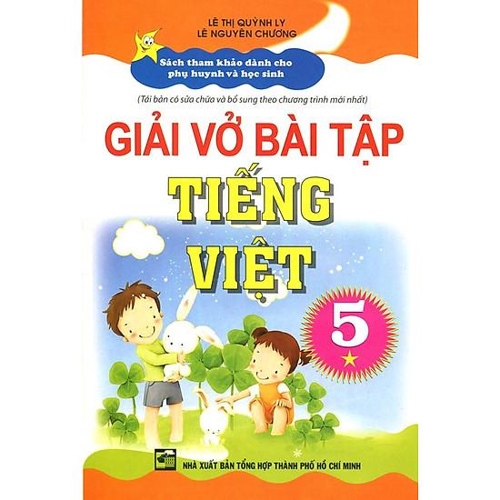 Giải Vở Bài Tập Tiếng Việt Lớp 5 (Tập 1)