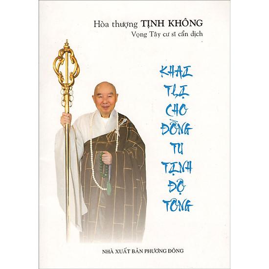 [Download sách] Khai Thị Cho Đồng Tu Tịnh Độ Tông