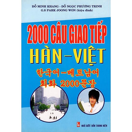 2000 Câu Giao Tiếp Hàn - Việt