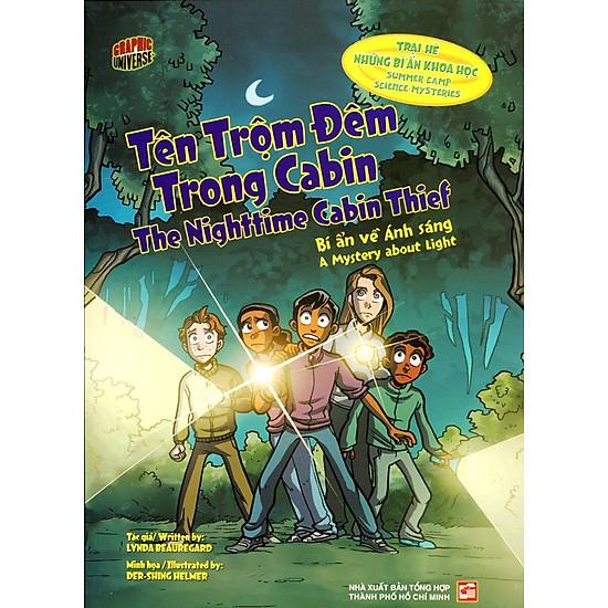 [Download Sách] Trại Hè Những Bí Ấn Khoa Học - Tên Trộm Đêm Trong Cabin