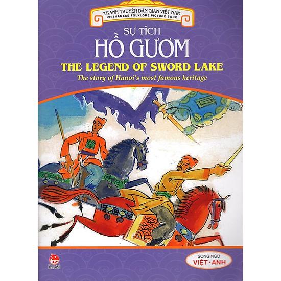Tranh Truyện Dân Gian Việt Nam Song Ngữ Việt Anh: Sự Tích Hồ Gươm