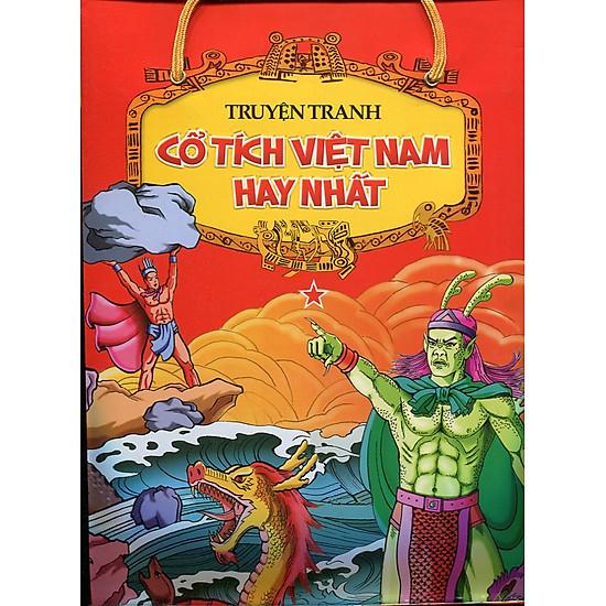 [Download Sách] Truyện Tranh Cổ Tích Việt Nam Hay Nhất (Túi 5 Cuốn)