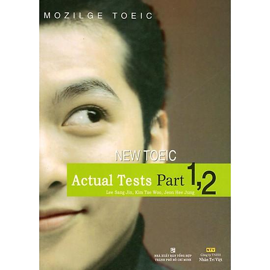 Download sách Actual Tests Part 1,2 (Kèm CD)