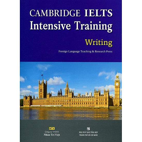 Download sách Cambridge IELTS Intensive Training Writing (Không CD)