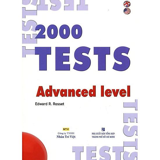 2000 Tests Advanced Level (Không CD)