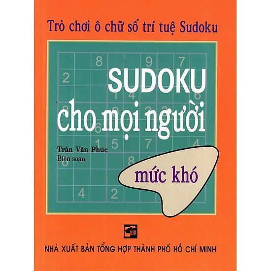 Sudoku Cho Mọi Người (Mức Khó)
