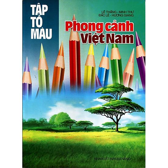 Tập Tô Màu – Phong Cảnh Việt Nam