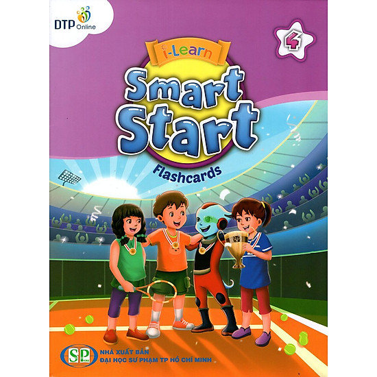 i-Learn Smart Start 4 Flashcards (Phiên Bản Dành Cho TP.HCM)