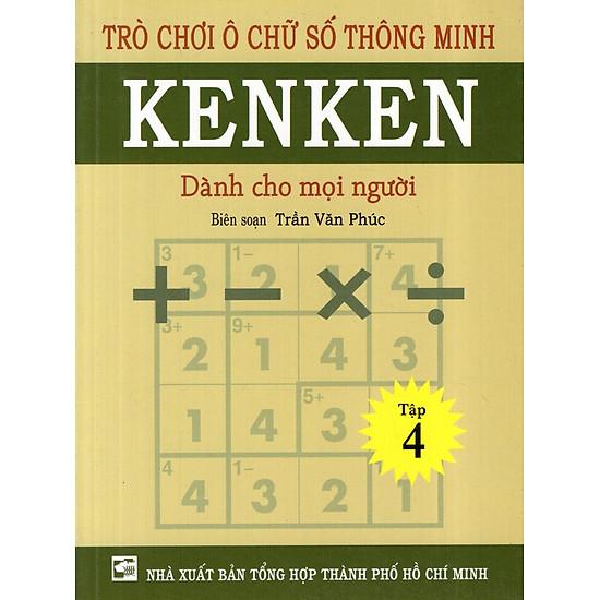 Trò Chơi Ô Chữ Số Thông Minh Kenken – Dành Cho Mọi Người (Tập 4)