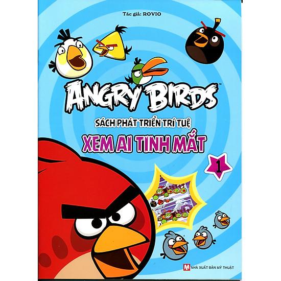 Angry Birds - Sách Phát Triển Trí Tuệ Xem Ai Tinh Mắt 1