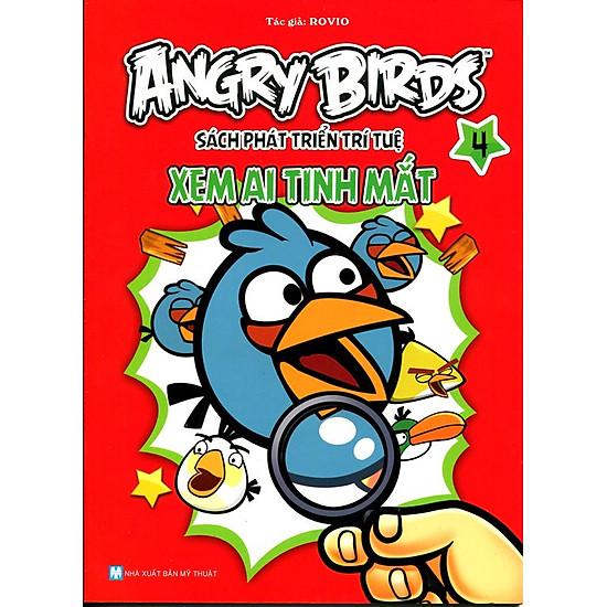 Angry Birds - Sách Phát Triển Trí Tuệ Xem Ai Tinh Mắt 4