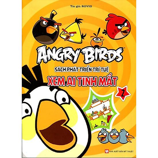 Angry Birds - Sách Phát Triển Trí Tuệ Xem Ai Tinh Mắt 2