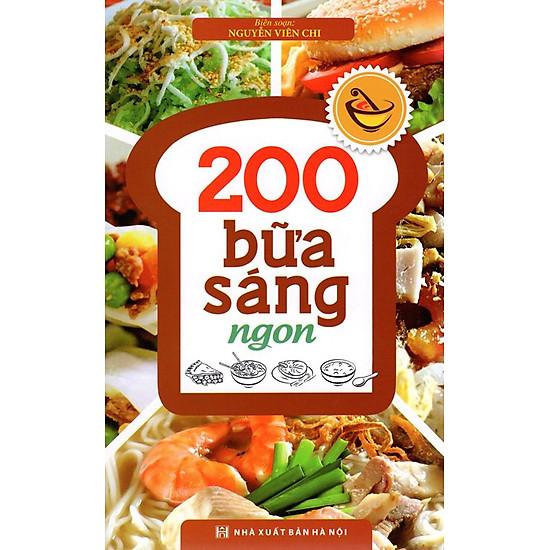 [Download sách] 200 Bữa Sáng Ngon