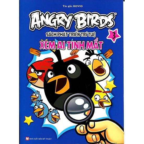 Angry Birds - Sách Phát Triển Trí Tuệ Xem Ai Tinh Mắt 3