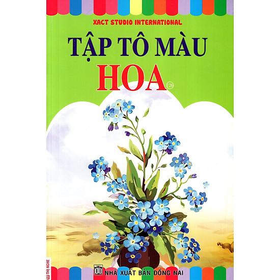 Download sách Tập Tô Màu - Tập 126: Hoa