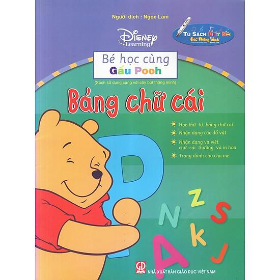 Bé Học Cùng Gấu Pooh: Bảng Chữ Cái
