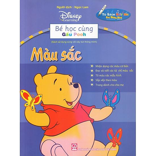 Bé Học Cùng Gấu Pooh: Màu Sắc