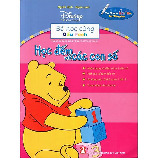 Bé Học Cùng Gấu Pooh: Học Đếm Với Các Con Số