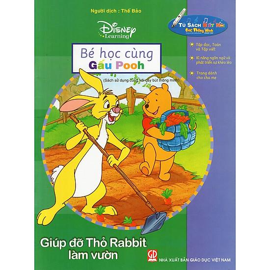 Bé Học Cùng Gấu Pooh: Giúp Đỡ Thỏ Rabbit Làm Vườn