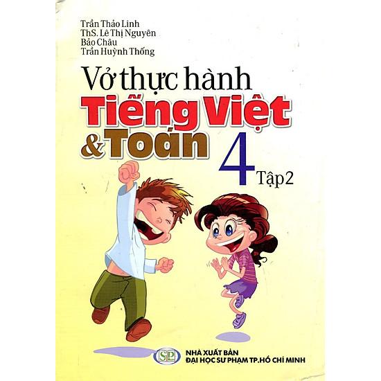 Vở Thực Hành Toán Tiếng Việt Lớp 4 (Tập 2)