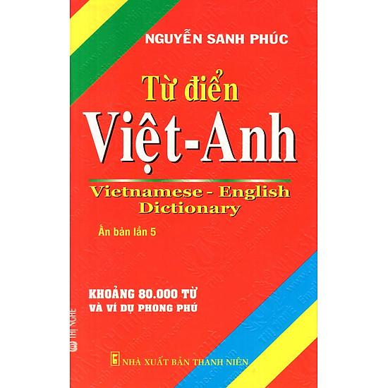 Từ Điển Việt – Anh (Khoảng 80.000 Từ) – Sách Bỏ Túi
