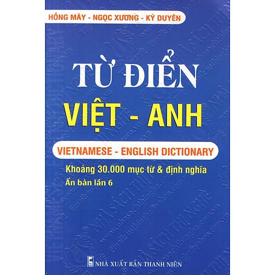 Từ Điển Việt – Anh (Khoảng 30.000 Từ) – Sách Bỏ Túi