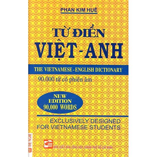 Từ Điển Việt – Anh (Khoảng 90.000 Từ) – Sách Bỏ Túi