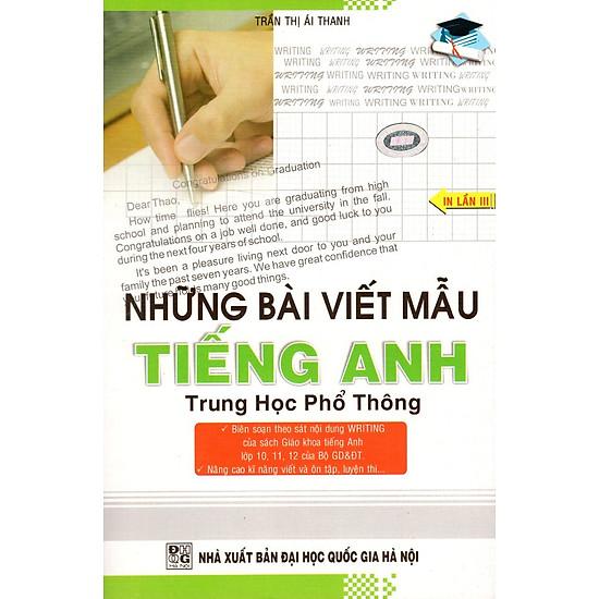 Những Bài Viết Mẫu Tiếng Anh Trung Học Phổ Thông