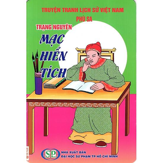 Truyện Tranh Lịch Sử Việt Nam – Trạng Nguyên Mạc Hiển Tích