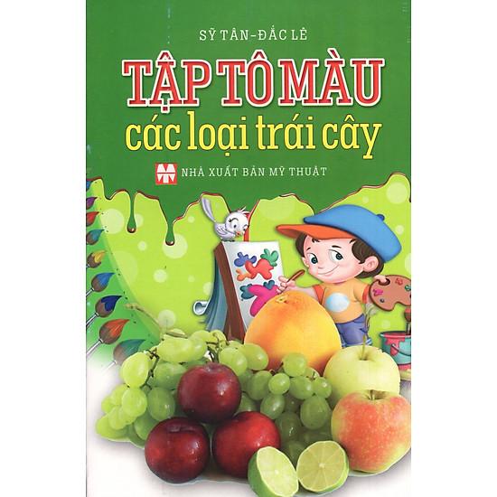 [Download Sách] Tập Tô Màu Các Loại Trái Cây