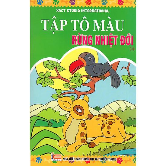 [Download Sách] Tập Tô Màu: Rừng Nhiệt Đới (Tập 144)