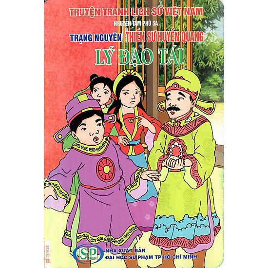 Truyện Tranh Lịch Sử Việt Nam – Trạng Nguyên Thiền Sư Huyền Quang Lý Đạo Tái