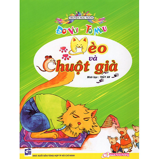 Đố Vui - Tô Màu - Mèo Và Chuột Già