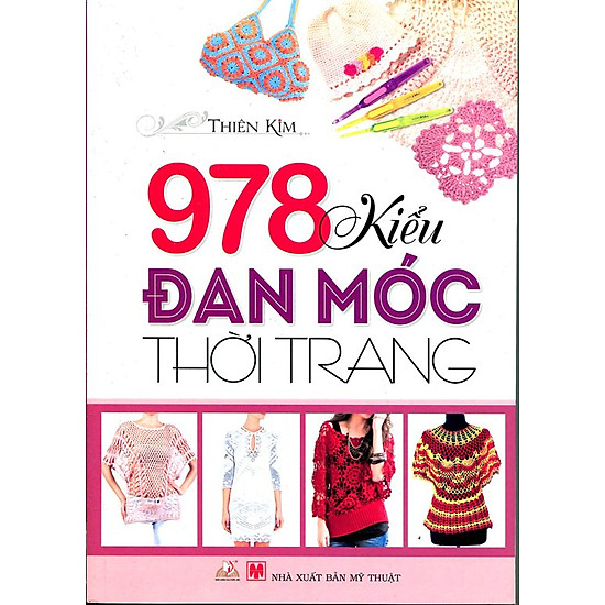 978 Kiểu Đan Móc Thời Trang (Tái Bản)