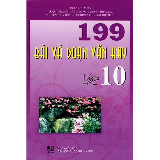 199 Bài Và Đoạn Văn Hay Lớp 10