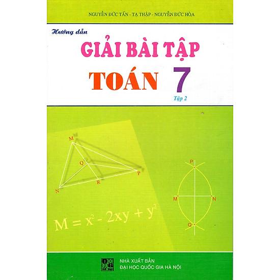 Hướng Dẫn Giải Bài Tập Toán Lớp 7 (Tập 2)