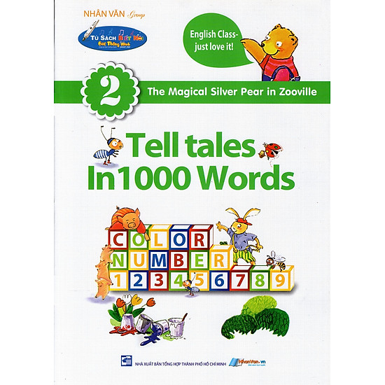 Download sách Tủ Sách Biết Nói: Tell Tales In 1000 Words (Tập 2)